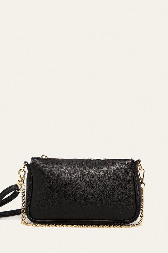 negru Answear - Poseta de piele Answear Lab De femei