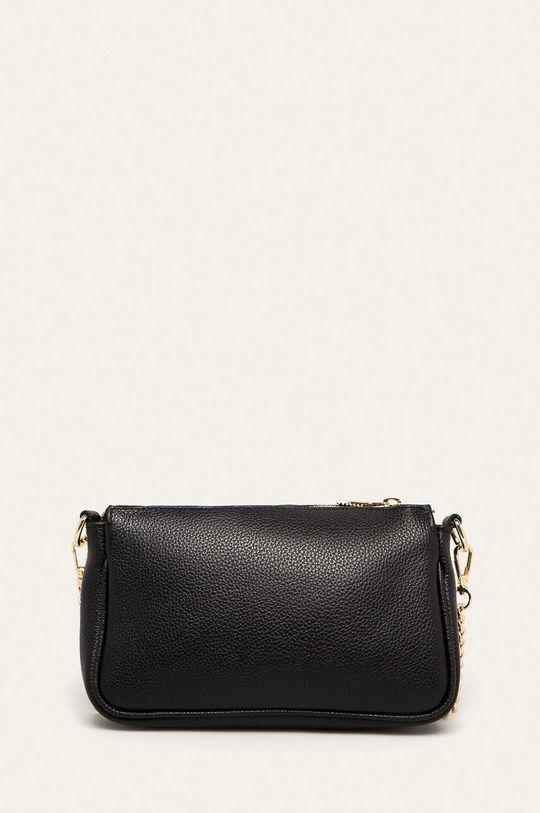 negru Answear - Poseta de piele Answear Lab