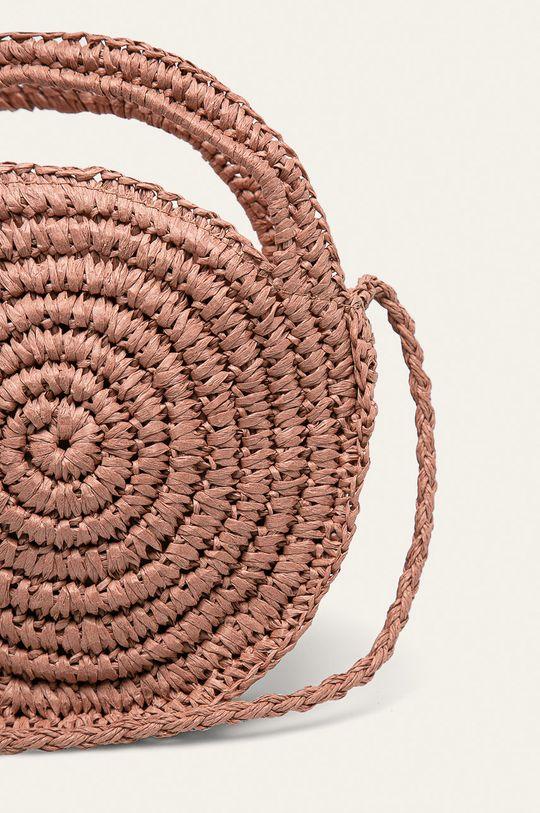pastelově růžová Answear - Kabelka