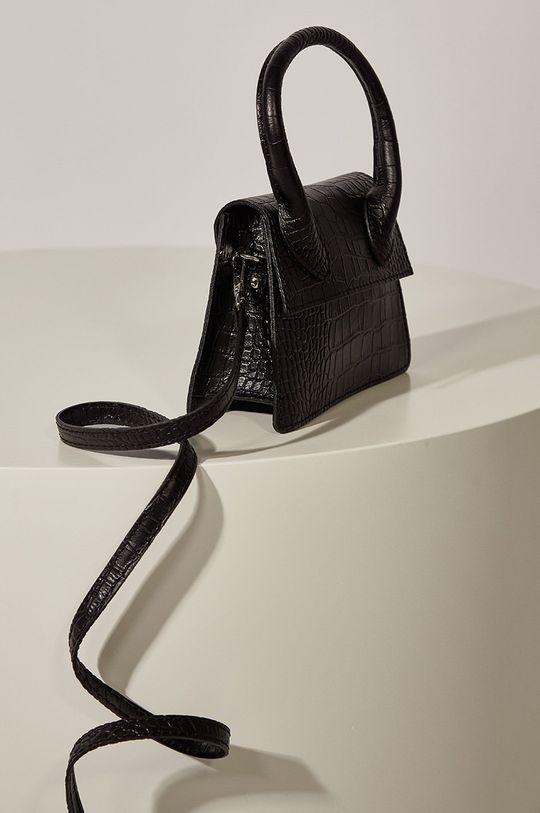 Answear.LAB limitovaná kolekcia - Kožená kabelka  100% Prírodná koža