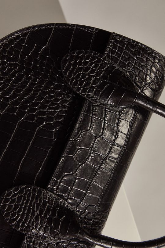 Answear - Torebka skórzana Answear Lab 100 % Skóra naturalna