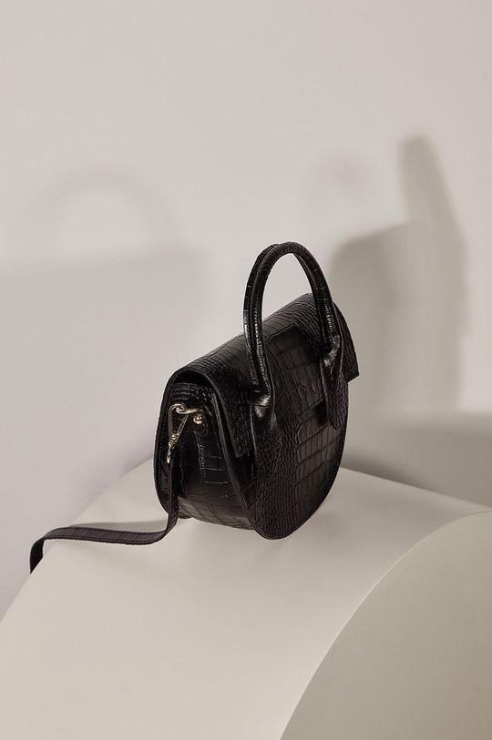 czarny Answear - Torebka skórzana Answear Lab