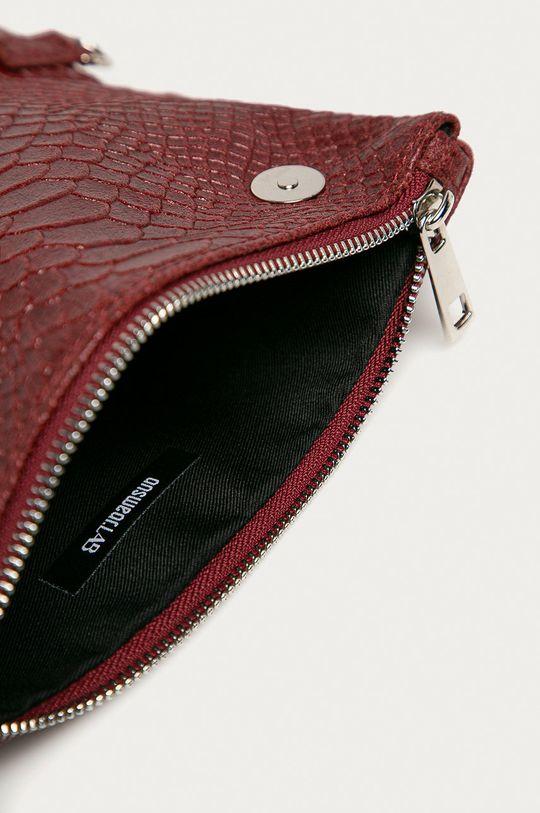 červená Answear Lab - Kožená kabelka