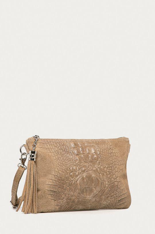 Answear Lab - Kožená kabelka Pielno  Hlavní materiál: 100% Přírodní kůže
