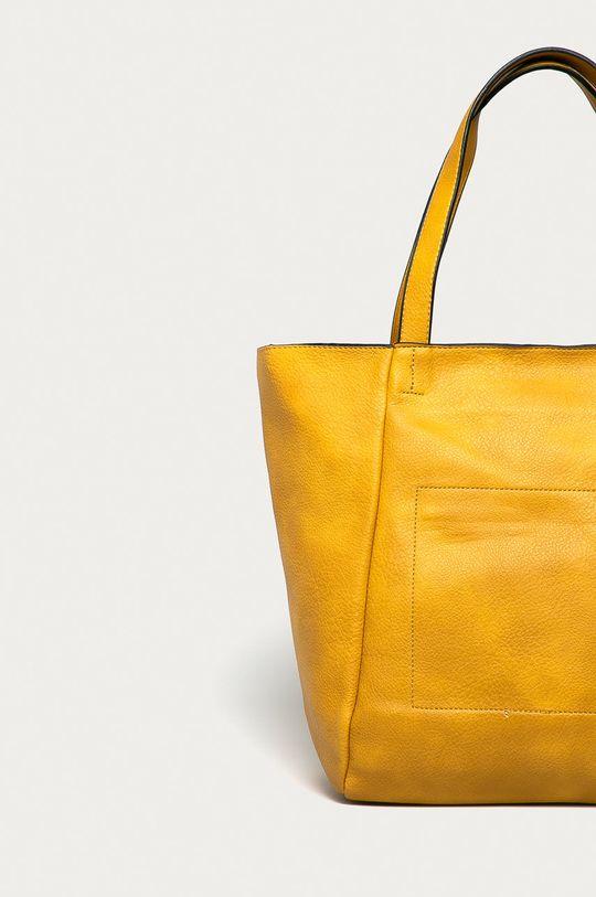 žlutá Answear Lab - Kabelka