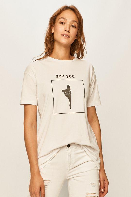 bílá Answear - Tričko Dámský