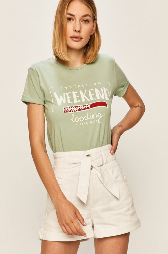 mátová Answear - Tričko Answear Lab Dámský