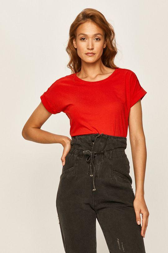 červená Answear - Tričko