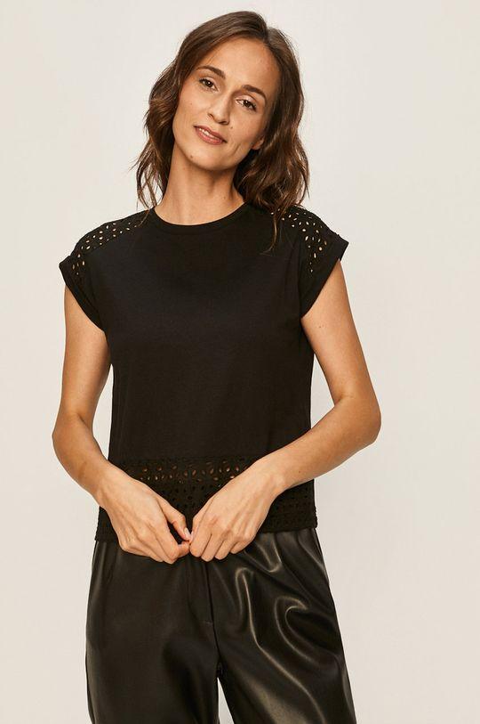 černá Answear - Tričko Answear Lab