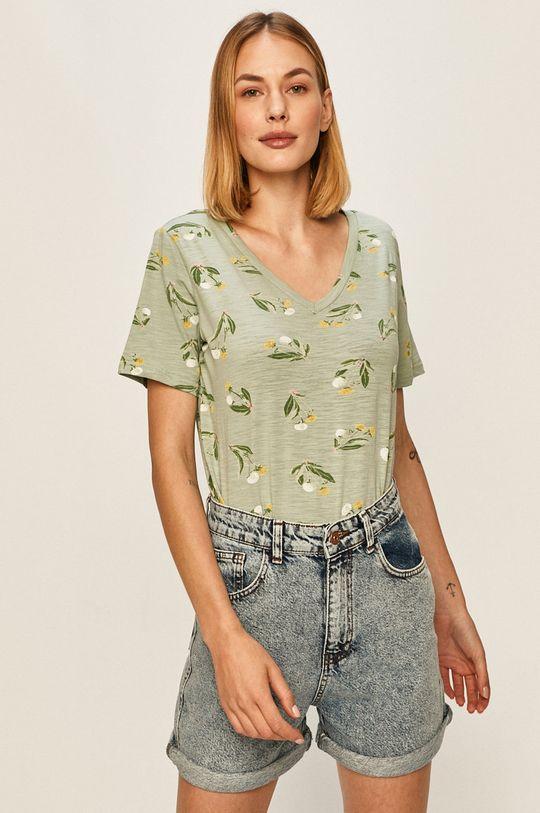 zelená Answear - Tričko Answear Lab