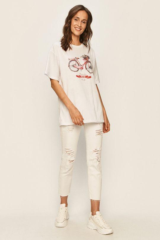 Answear - Tričko bílá