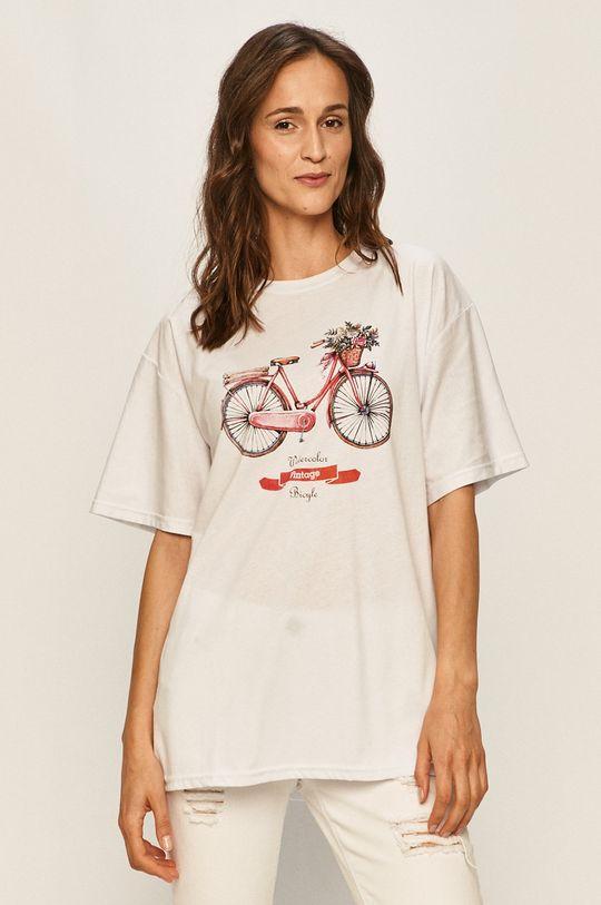 bílá Answear - Tričko