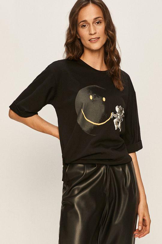 černá Answear - Tričko Answear Lab Dámský