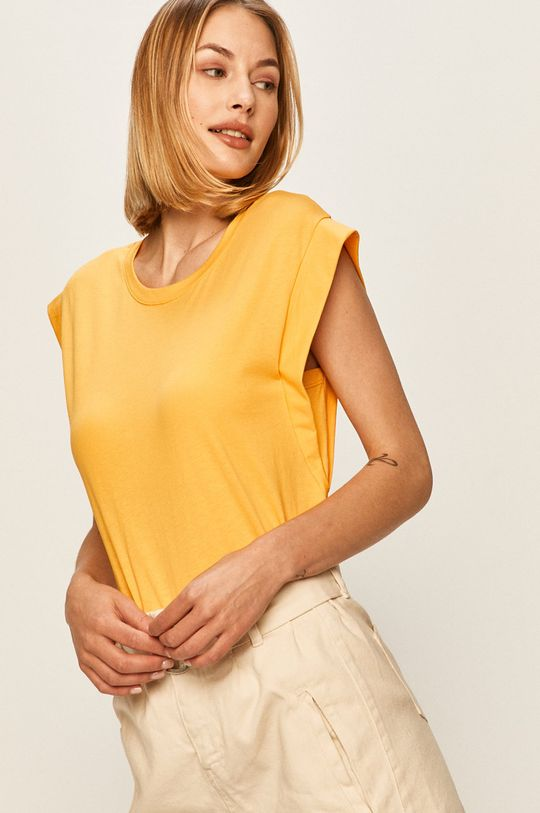 žlutá Answear - Tričko Answear Lab Dámský