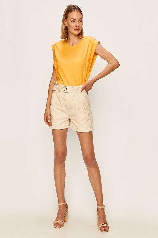 Answear - Tričko Answear Lab žlutá