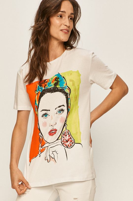 bílá Answear - Tričko Answear Lab Dámský
