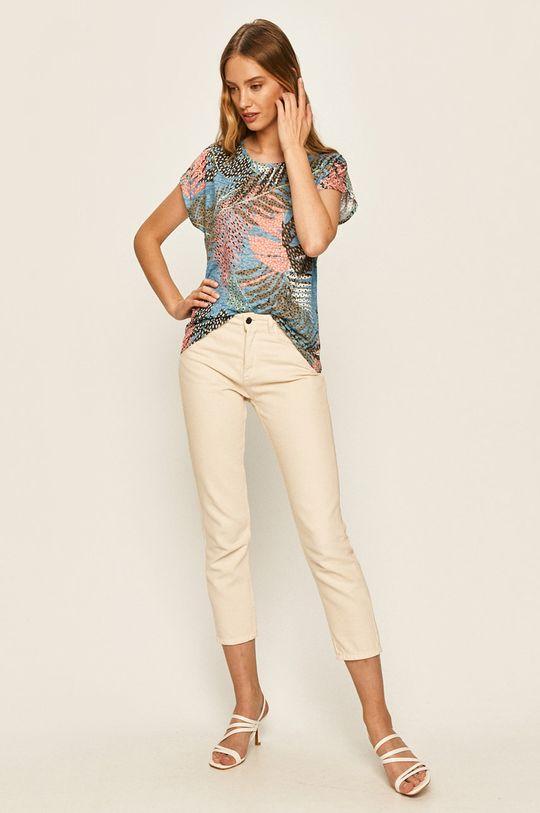 Answear - Tričko vícebarevná