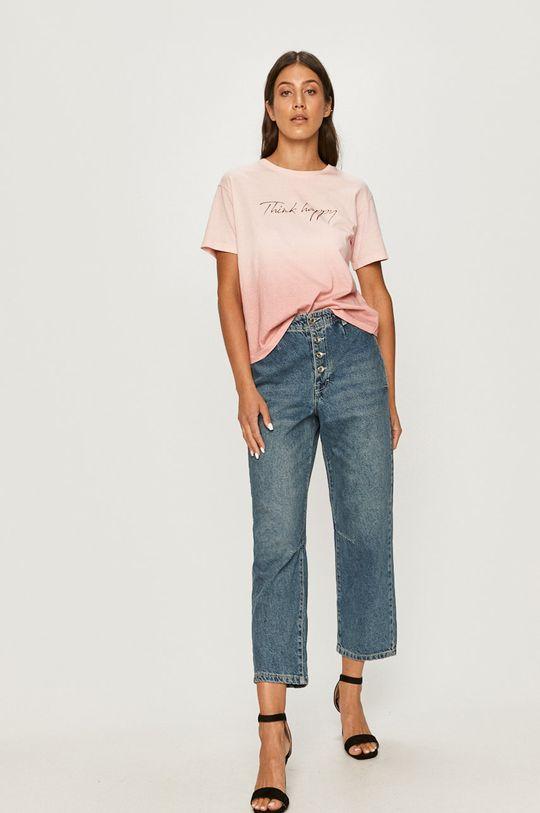 Answear - T-shirt Answear Lab różowy