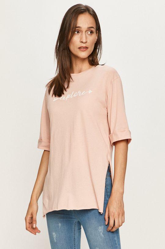 różowy Answear - T-shirt