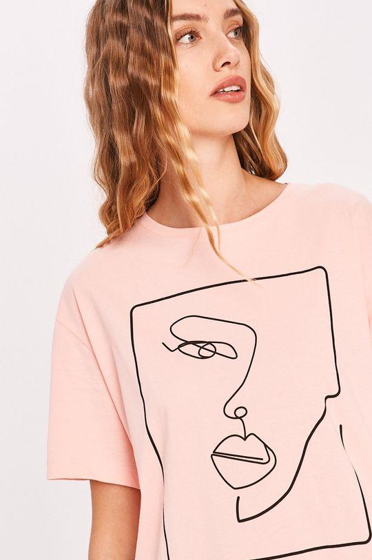 ružová Answear - Tričko Answear Lab Dámsky