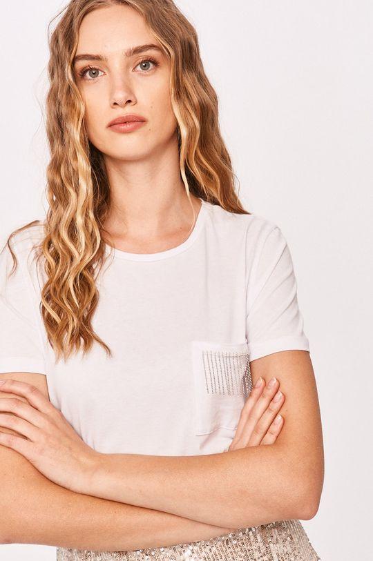 biela Answear - Tričko Answear Lab Dámsky