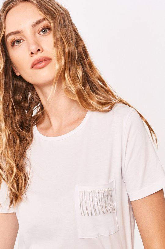 biela Answear - Tričko Answear Lab