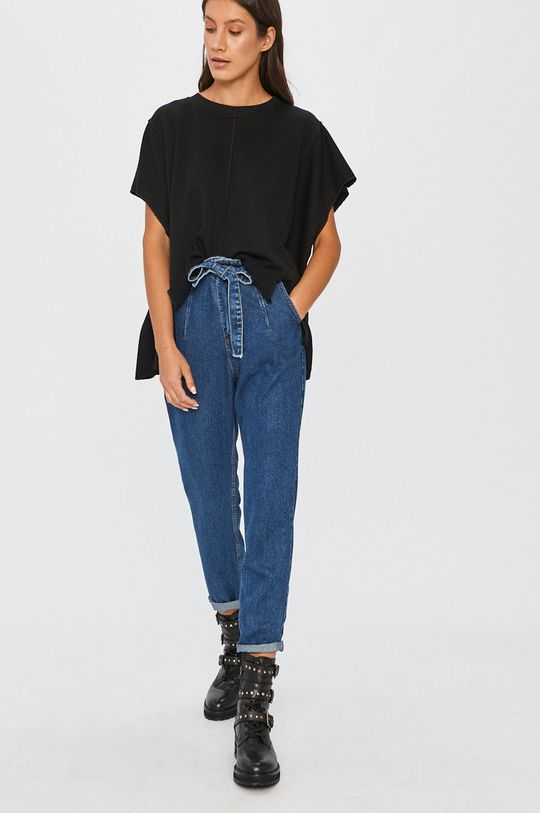 Answear - Mikina Answear Lab čierna