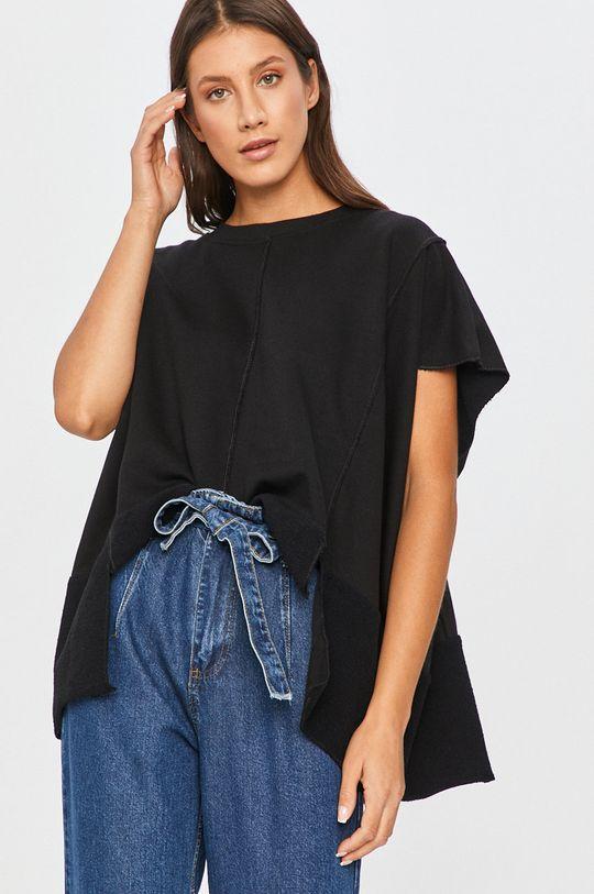 čierna Answear - Mikina Answear Lab