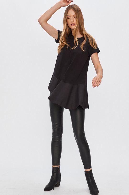 Answear - Tričko Answear Lab čierna