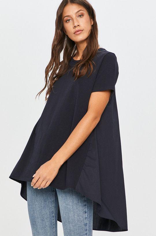 bleumarin Answear - Tricou Answear Lab De femei