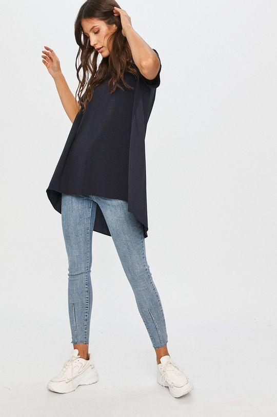 Answear - Tricou Answear Lab bleumarin