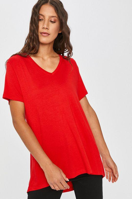 Answear Lab - Tričko červená