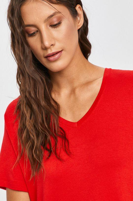 červená Answear Lab - Tričko