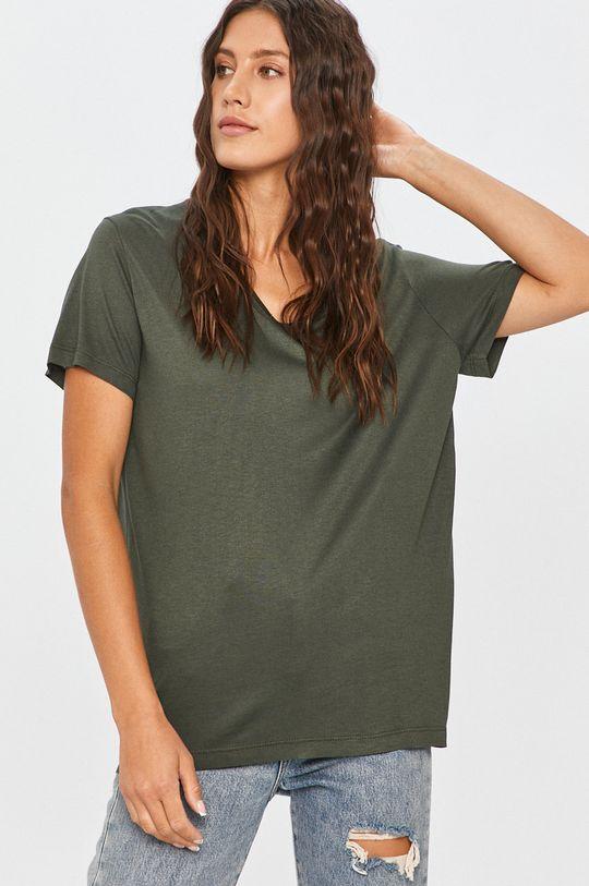 Answear - Tričko Answear Lab zelená