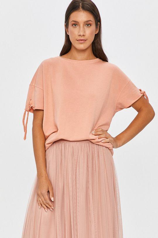 roz Answear Lab - Tricou De femei