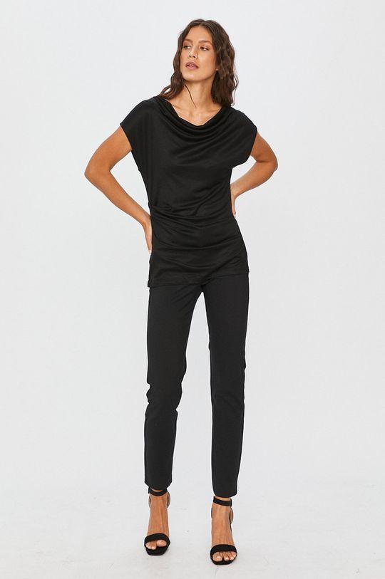 Answear Lab - Tričko čierna