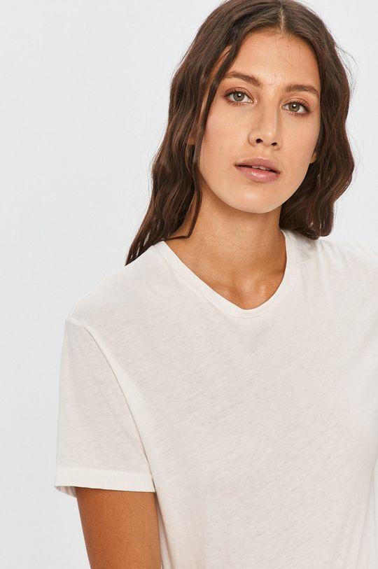 bílá Answear - Tričko Answear Lab