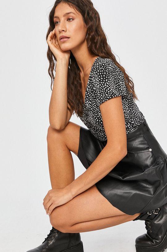 čierna Answear - Tričko Answear Lab Dámsky
