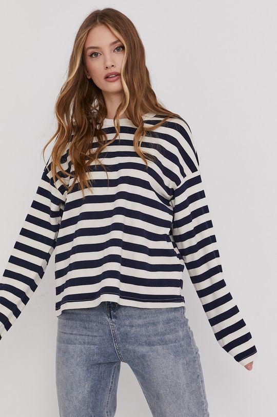 biały Answear Lab - Bluza bawełniana