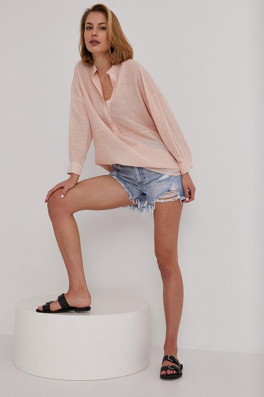 roz Answear Lab - Bluza De femei