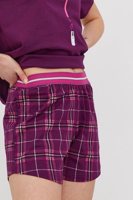 fioletowy Answear Lab - Piżama