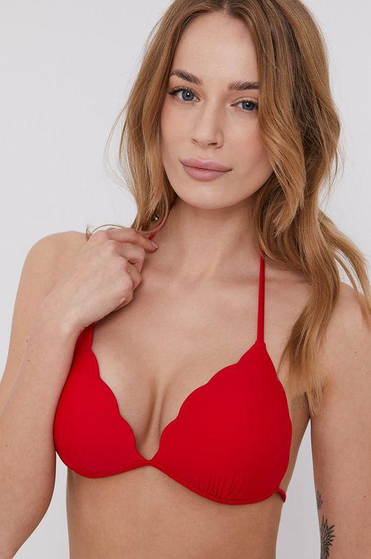 czerwony Answear Lab - Biustonosz kąpielowy Damski