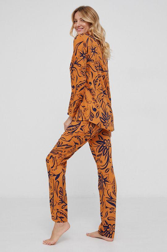 musztardowy Answear Lab - Piżama