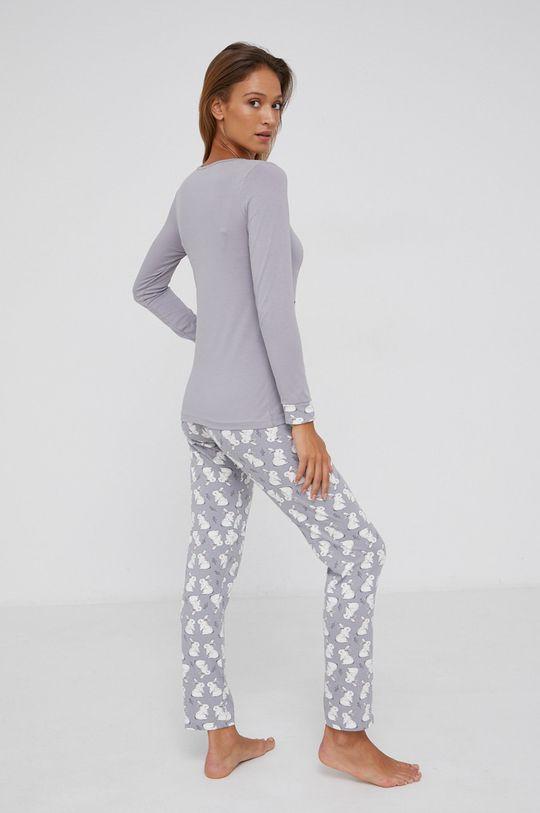 Answear Lab - Pyžamo šedá