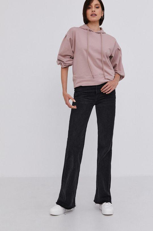 Answear Lab - Bluza różowy