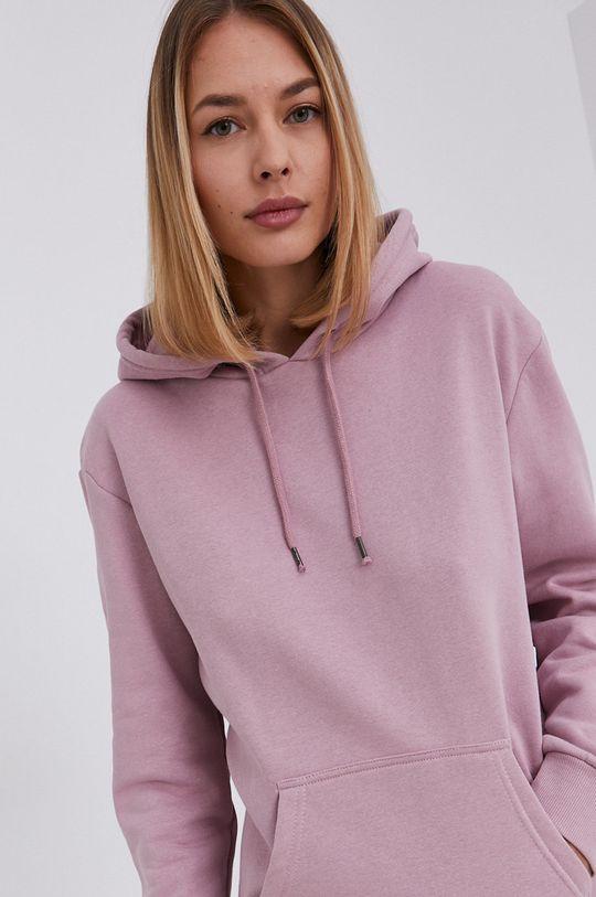 fiołkowo różowy Answear Lab - Bluza