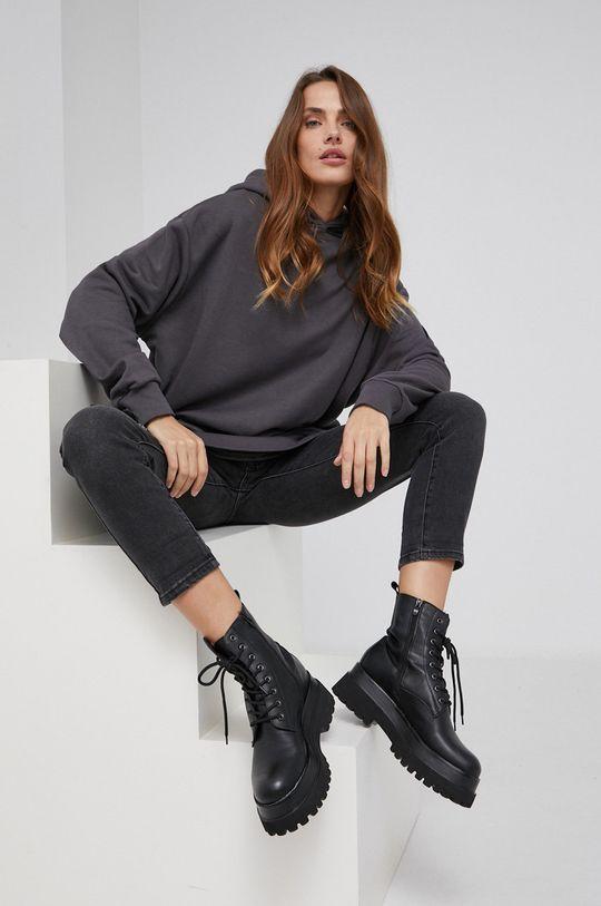 γκρί Answear Lab - Μπλούζα Γυναικεία