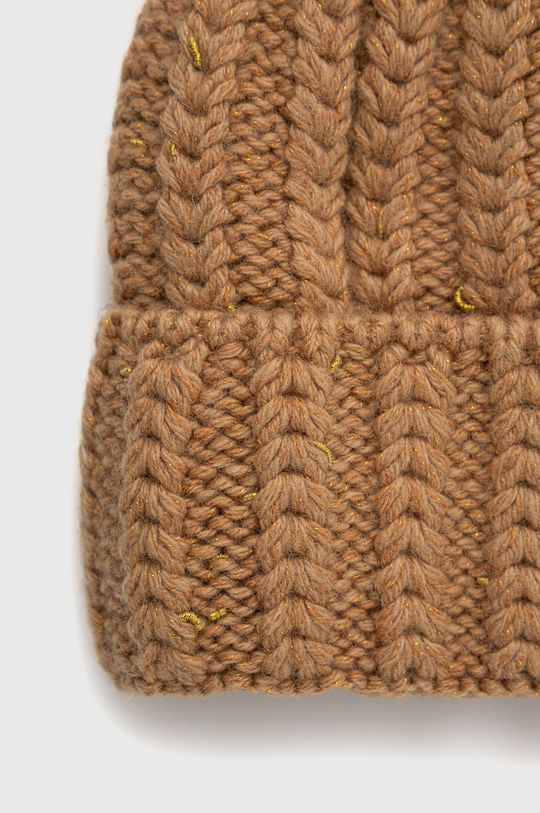 Answear Lab - Čepice z vlněné směsi  50% Akryl, 15% Kašmír, 5% Lurex, 30% Vlna