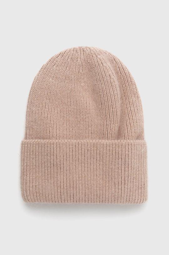 béžová Answear Lab - Vlněný klobouk Dámský
