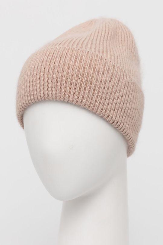 Answear Lab - Vlněný klobouk béžová